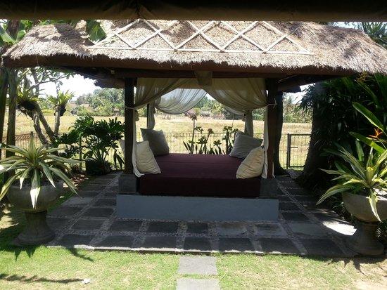Villa Kaba Kaba Resort Bali: The Bale facing the open field