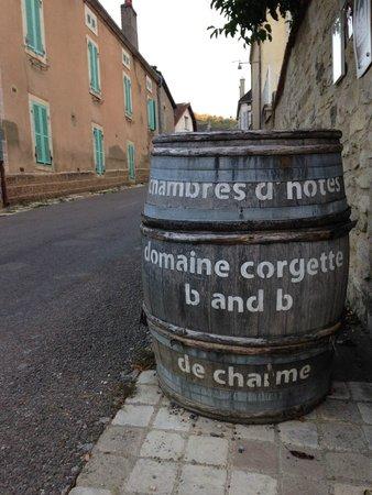 Domaine de la Corgette : Clever signage
