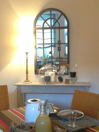 Domaine de la Corgette : Breakfast room