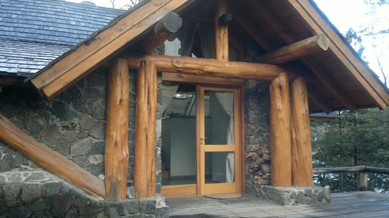 Punta Manzano: entrada de la casa
