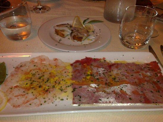 Il Brigantino : crudo di pesce 1