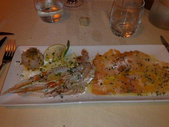 Il Brigantino : crudo di pesce 2
