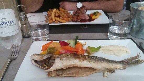 Au pique assiette : Magret de canard et bar flambé au whisky
