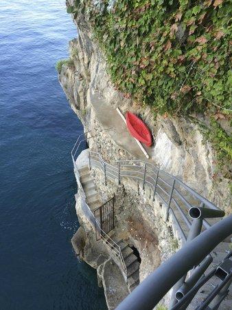 Beautiful Arienzo Beach from top of the steps - Foto di Bagni d ...