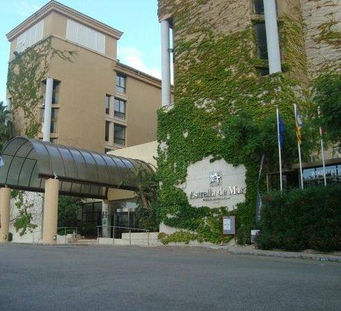Estrella Coral de Mar Resort Wellness & Spa : Hotellin pääsisäänkäynti