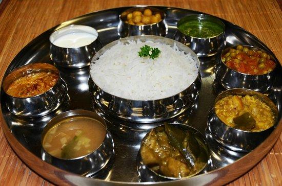 Shanthi: Südindische Thali