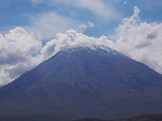 El Misti : Peru's Mt Fujiyama.