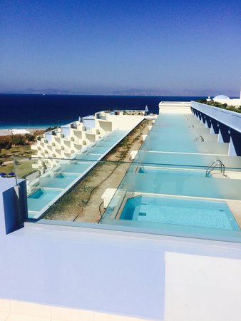 hotell med egen pool