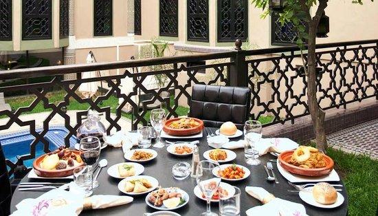 Palais Ommeyad Suites & Spa: Vue restaurant