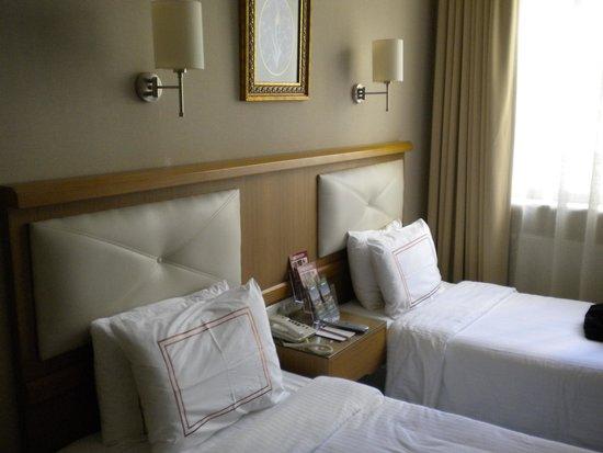 Hotel Ilkay : chambre double sur partie rénovée