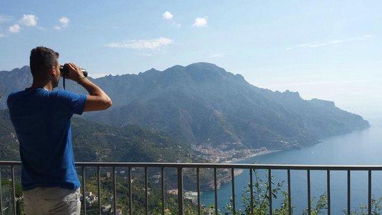 Villa Amore: Panorama terrazza colazioni *-*