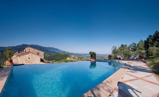 Hotel Villa Volpi: The Villa Volpi view