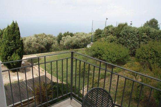 Hotel Bellavista : der Merrblick vom kleinen Balkon