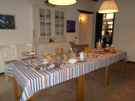 Locanda del Re Guerriero : Breakfast buffet