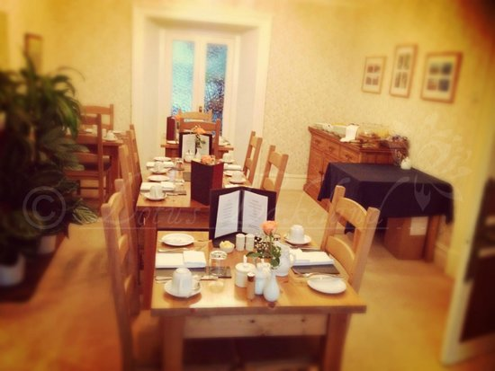 Caer Menai Guest House / Bed and Breakfast : Breakfast Room