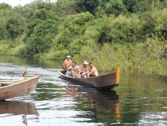 River Yacuma: Turistas en el Río Yacuma