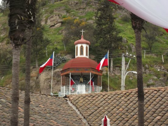 Quinta de Tilcoco, Chile: LA vergine del Carmen di Quinta