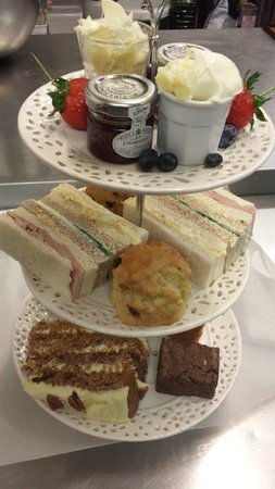 The Real Eating Company: Afternoon tea