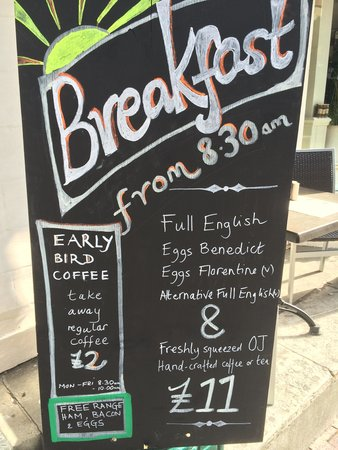 The Real Eating Company: Breakfast