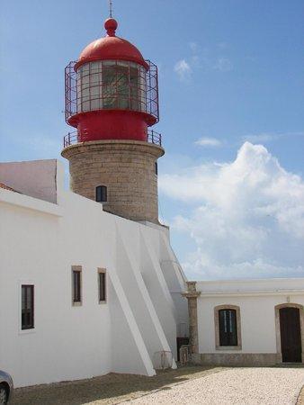 Cape Saint Vincent: Vista del faro.