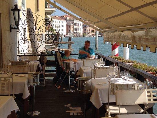 Hotel Continental Venice: Terasse Continental