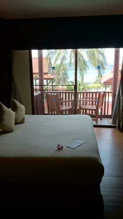 Seaview Patong Hotel: Lovely clean rooms with lovely views (if you choose the sea view room!)
