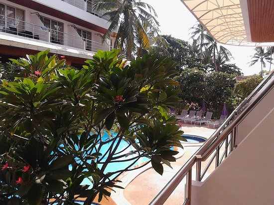 Samui First House Resort : вид с балкона