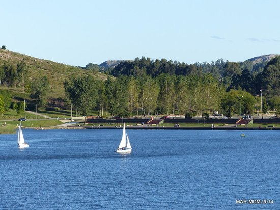 Lago y Dique del Fuerte
