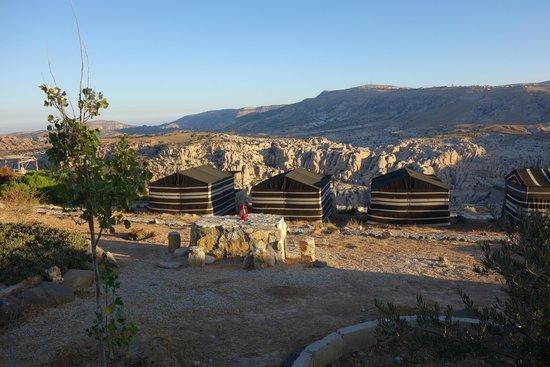 Al-Nawatef Camp : Uitzicht