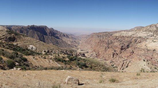 Dana Nature Reserve : Uitzicht vallei
