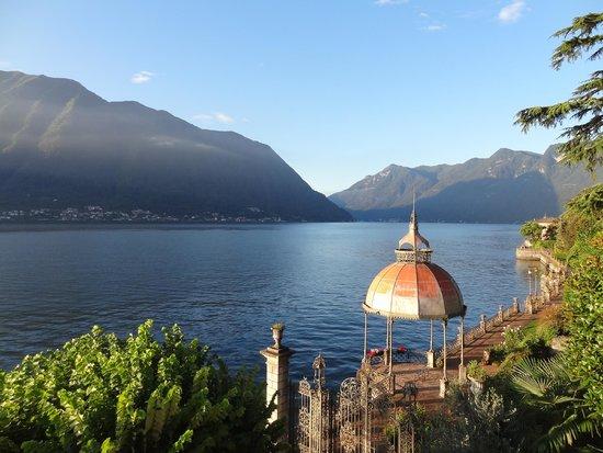 Hotel Ristorante Taverna Bleu: View from our balcony