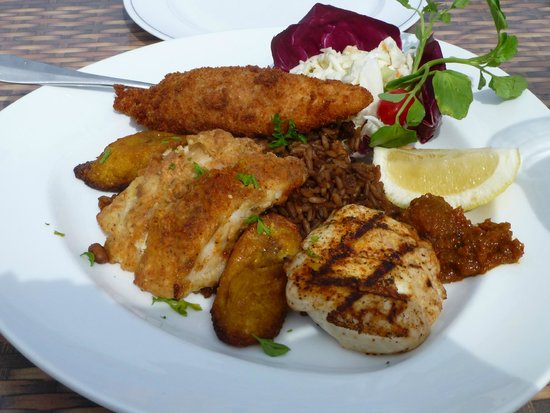 """Best meal of the trip - """"Bermuda Triangle"""" - Picture of Wahoo's ..."""