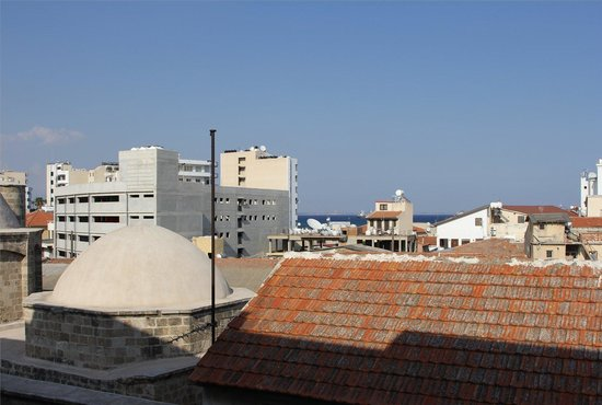 Livadhiotis City Hotel : view from the room