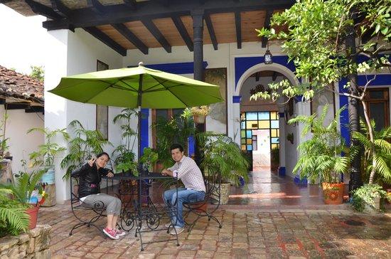 Posada Casa Juana: Preparados para desayunar