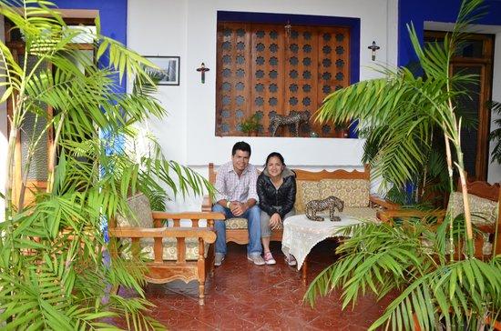 Posada Casa Juana: Tomando un descanso