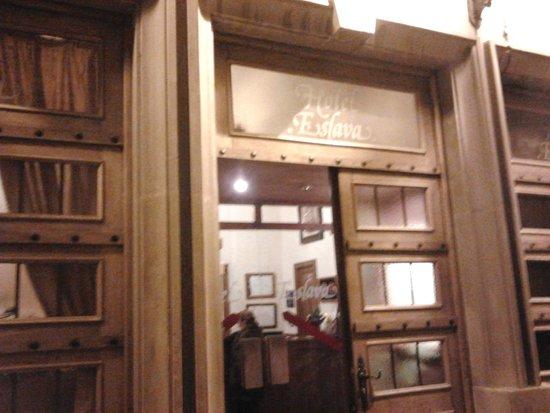 Hotel Eslava : Entrada