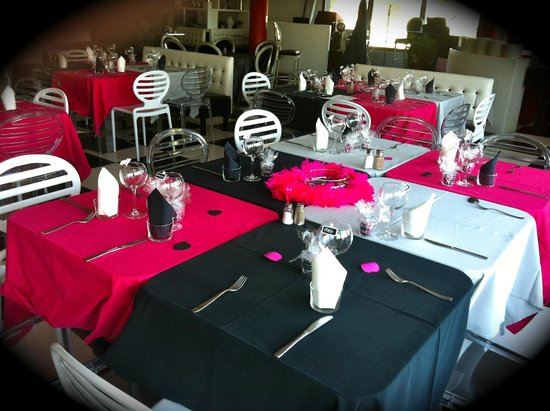 Le Roy Toqué : Déco tables Saint-Valentin
