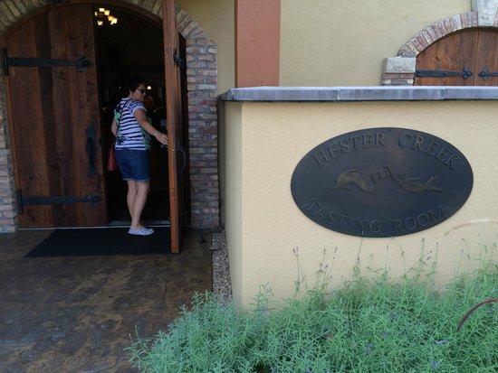 Hester Creek Estate Winery : Main building