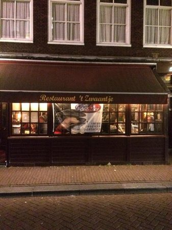A traditional Brown Cafe in Amsterdam! , Picture of