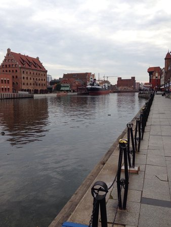 Hilton Gdansk: River views