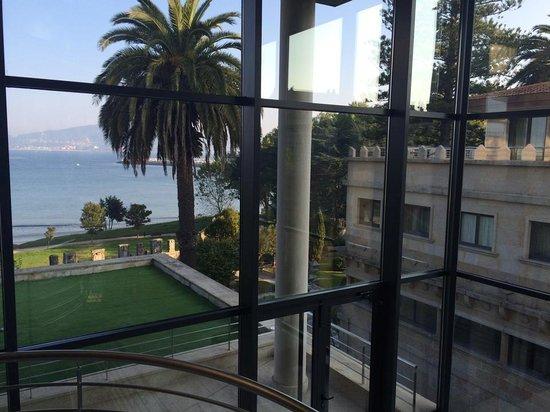 Pazo Los Escudos Hotel and Spa: Vista desde escaleras