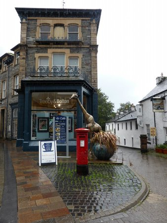Treeby & Bolton Cafe: Look out for the giraffe!
