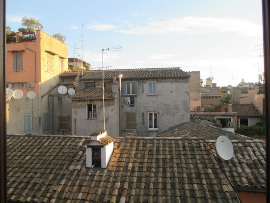 Hotel Arenula: View from the room