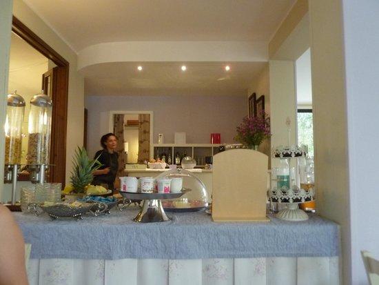 Hotel Clodia : завтрак с другой стороны стола )))