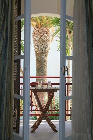 Hotel Katerina: our balcony