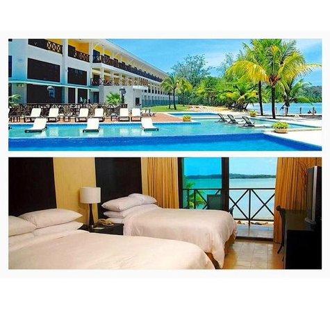 Playa Tortuga Hotel & Beach Resort: PLAYA TORTUGA - BOCAS DEL TORO , PANAMA