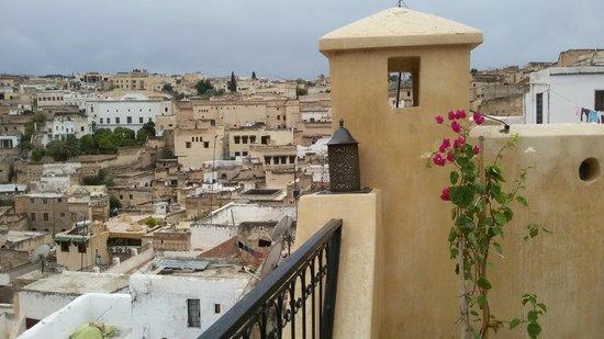 dar gnaoua: Vista dalla terrazza