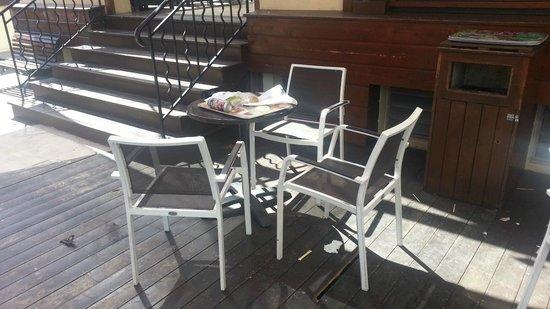 La Case à Pains: Dommage pour la propreté