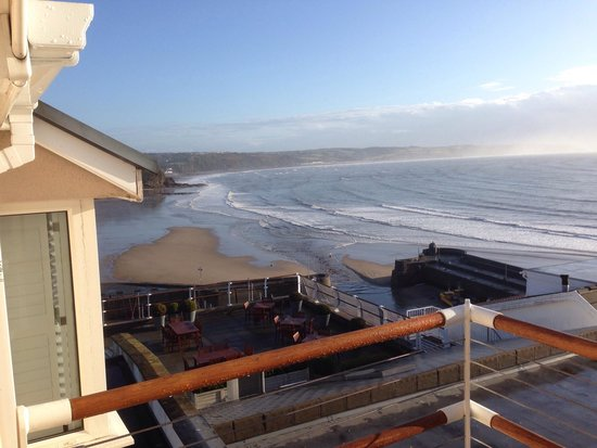St Brides Spa Hotel : From the balcony of room 205