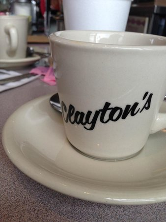 Clayton's Coffee Shop: Hot cup of Joe!